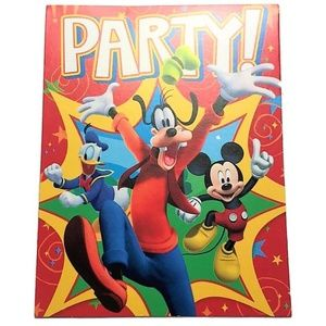 Disney Mickey Mouse Clubhouse Party Invitations